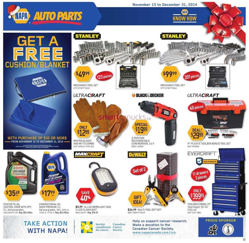 Napa Auto Parts November 15 To December 31 Wiring Harness