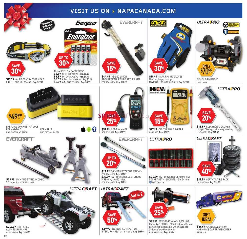 Napa Auto Parts November 15 To December 31 Wiring Harness More Flyers