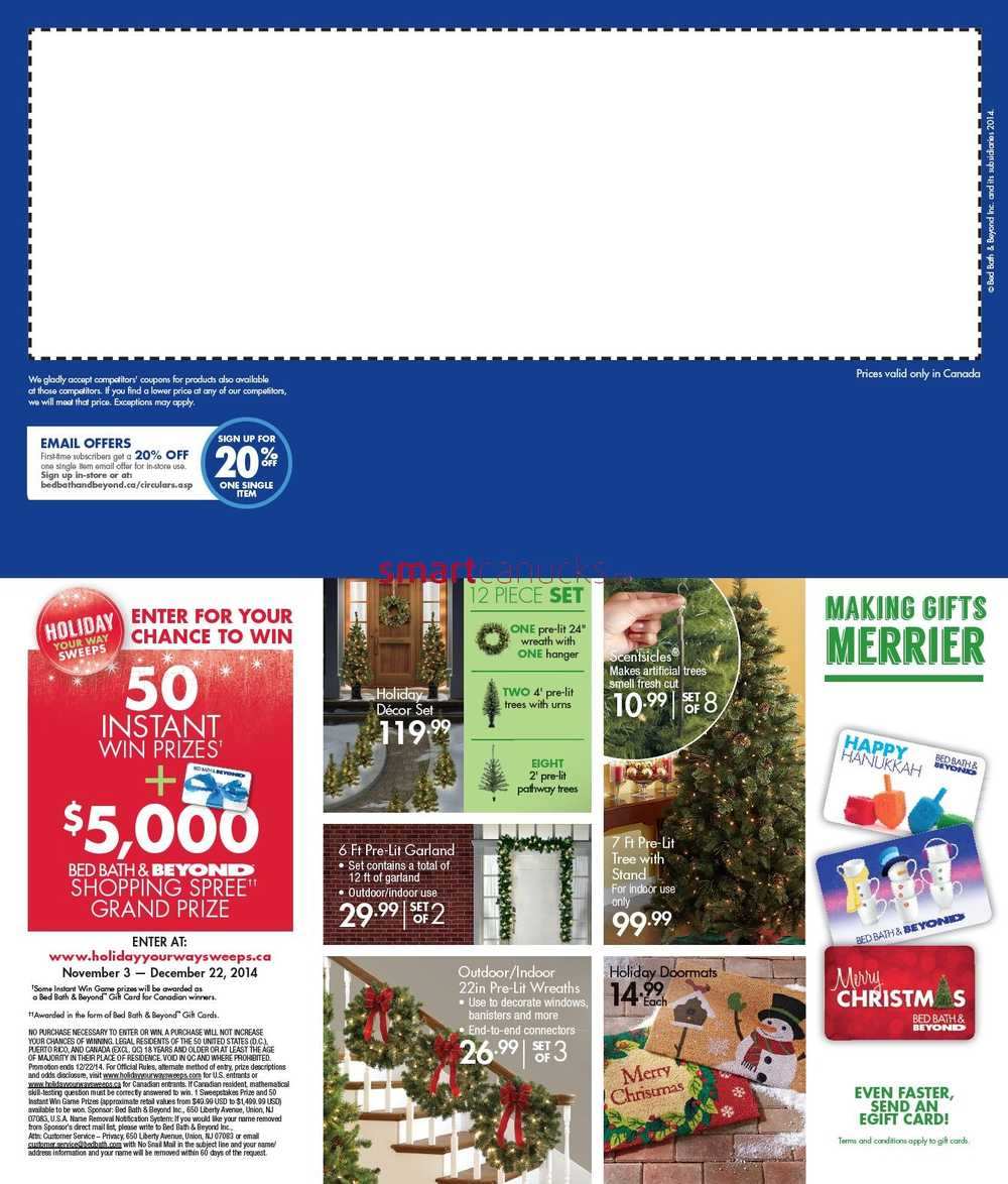 Bed Bath And Beyond  Off Coupon November