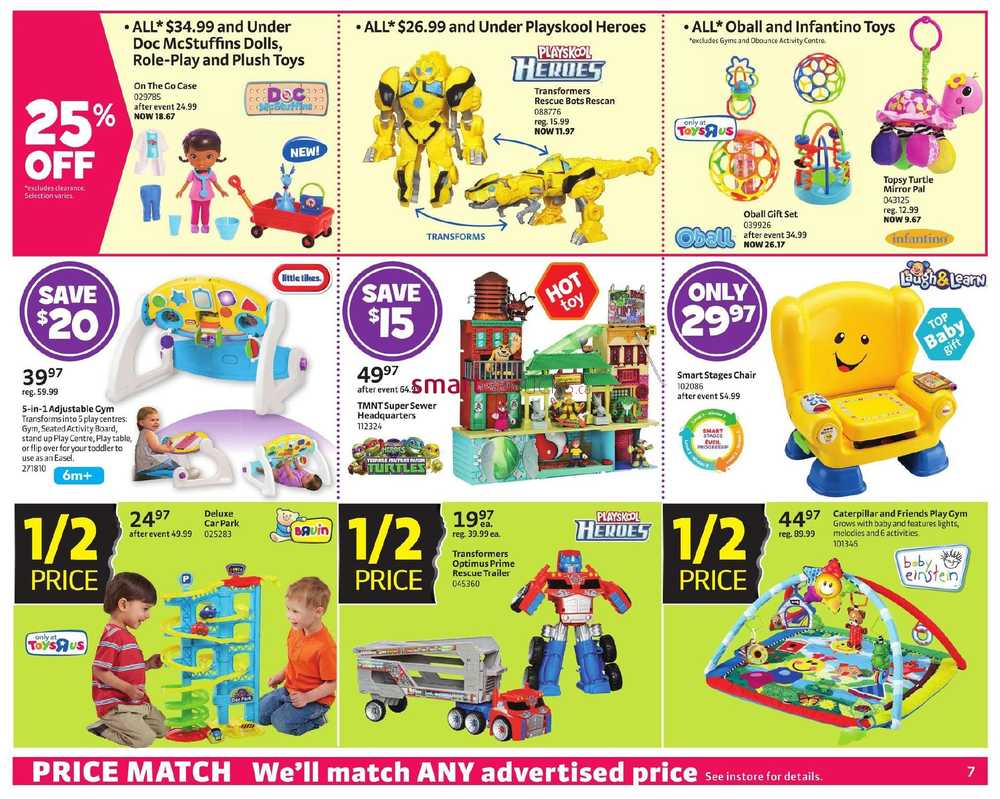Toys R Us And Babies R Us Black Friday 2014 Flyer