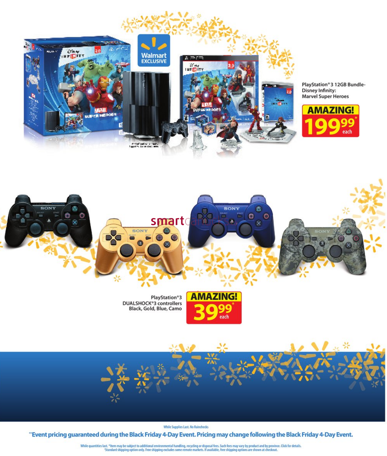 Walmart 4 day Black Friday flyer nov 28 - Dec 1