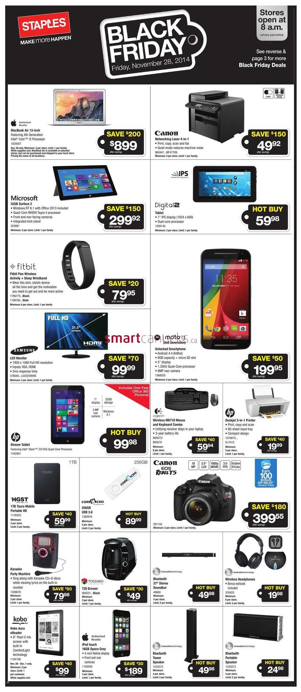 Staples black friday deals canada