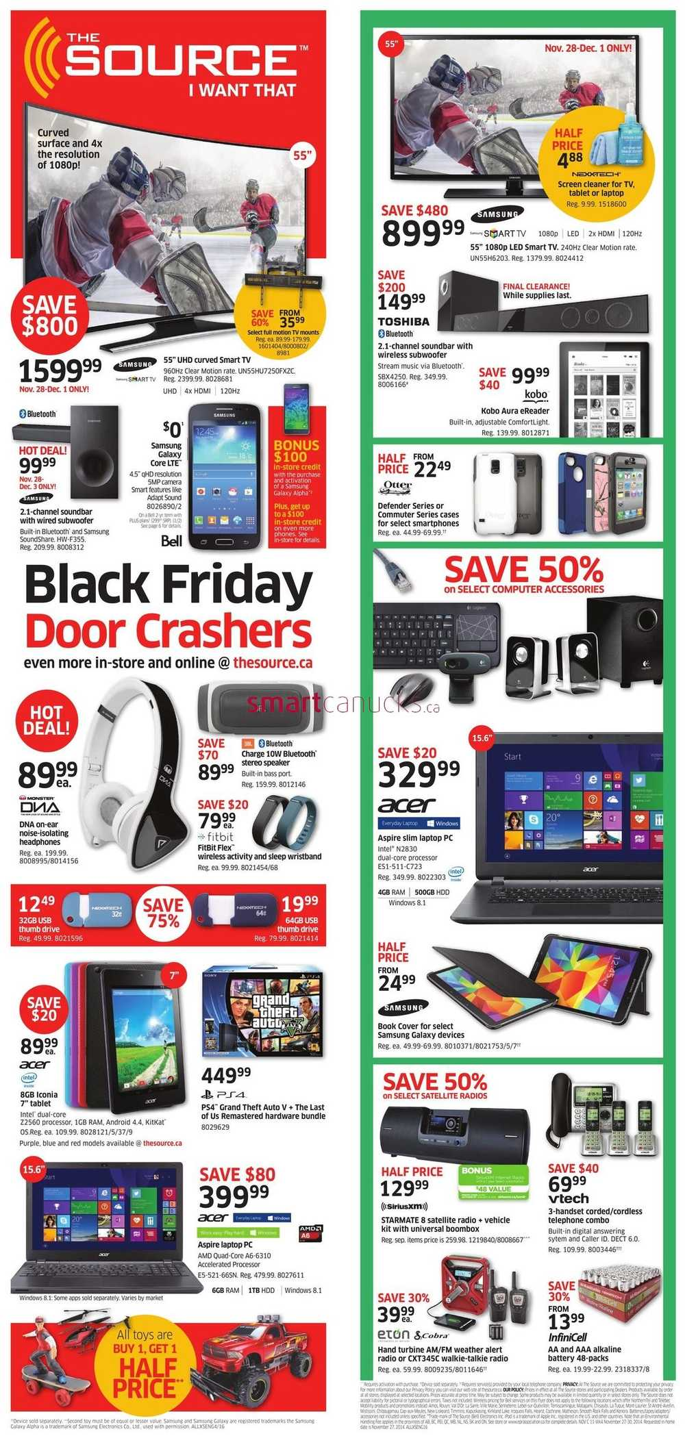 The Source Black Friday 2014 Flyer