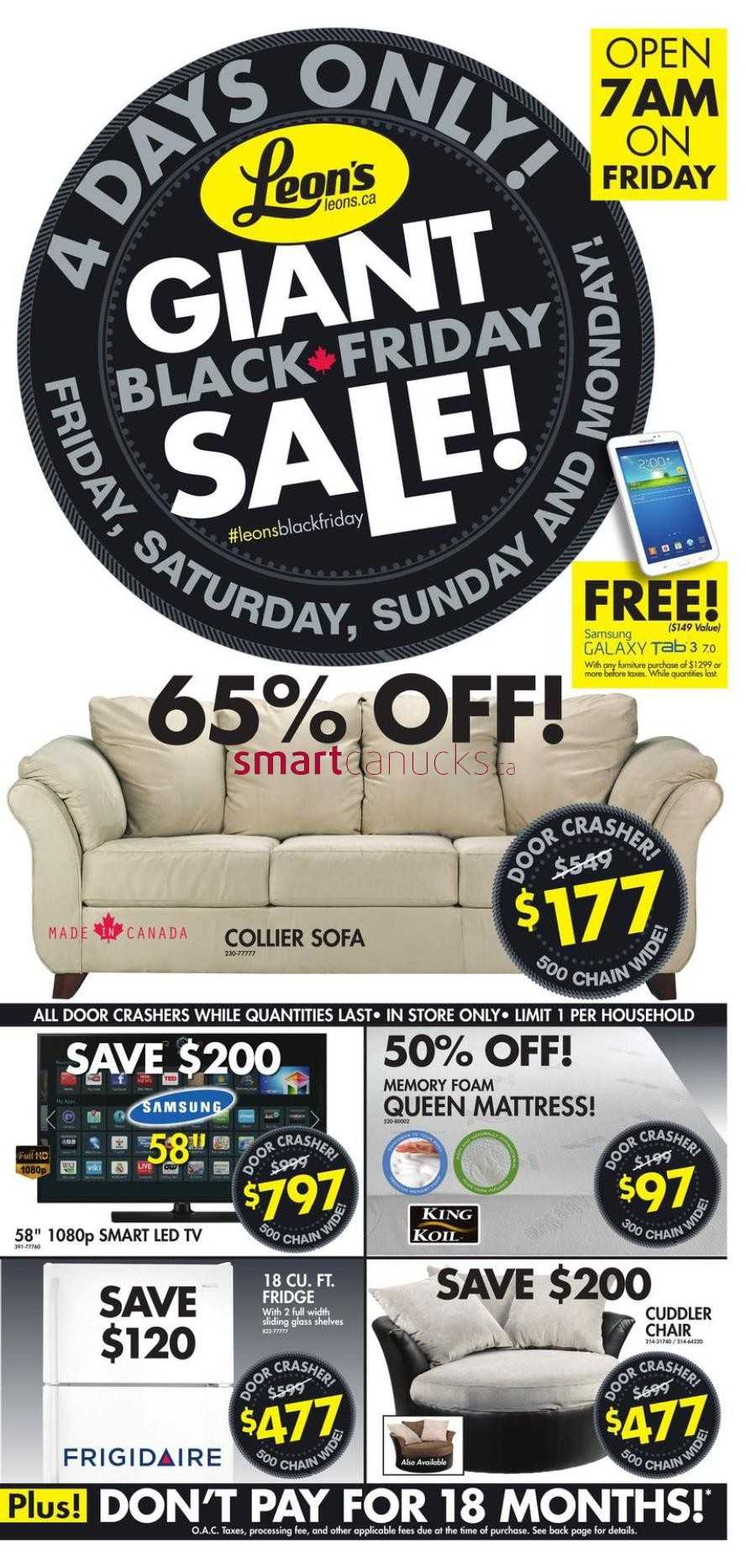Fine Leons Black Friday 2014 Flyer Sales Deals Squirreltailoven Fun Painted Chair Ideas Images Squirreltailovenorg