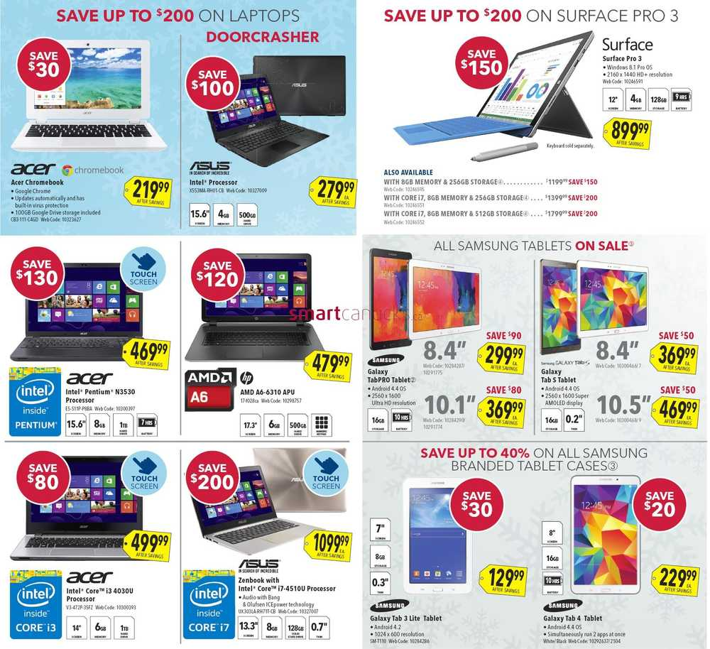 best buy boxing day 2014 flyer sales and deals