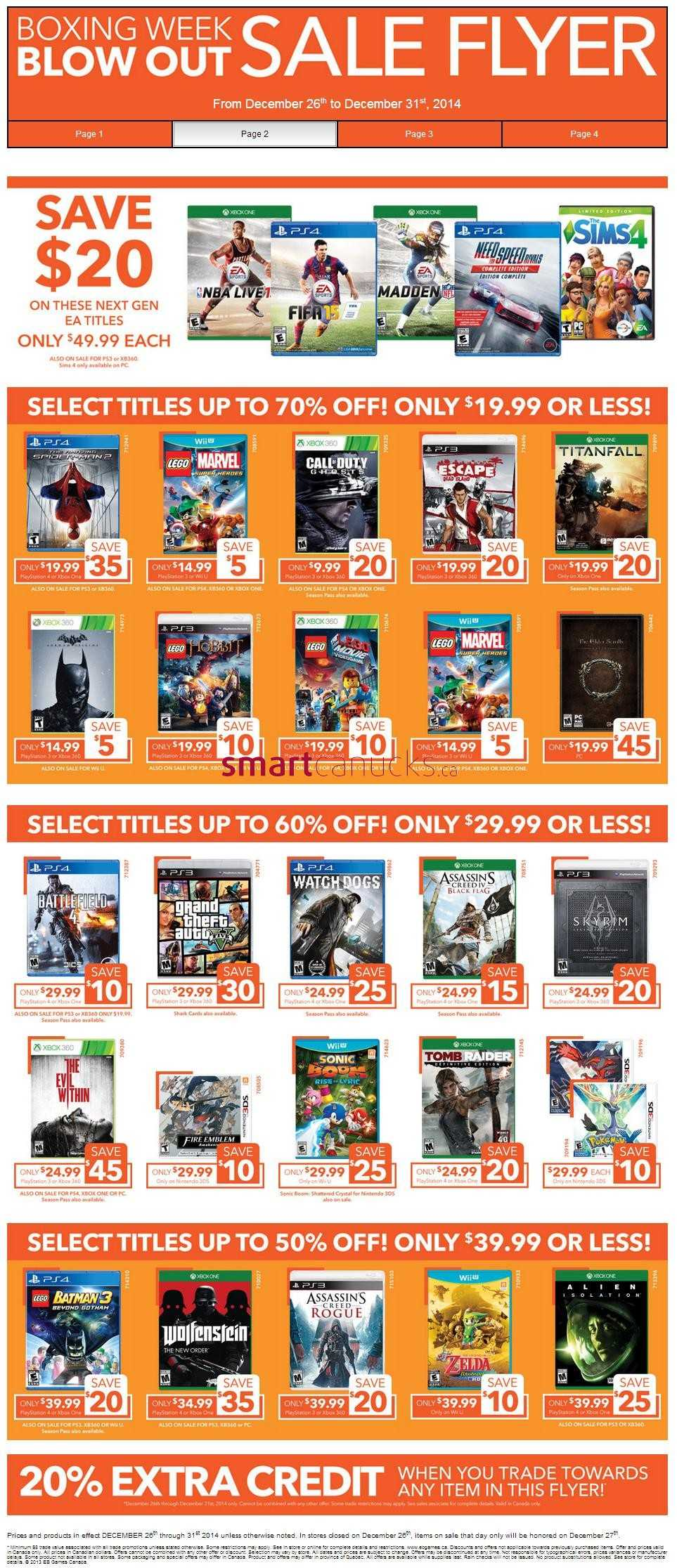 Eb games boxing day deals