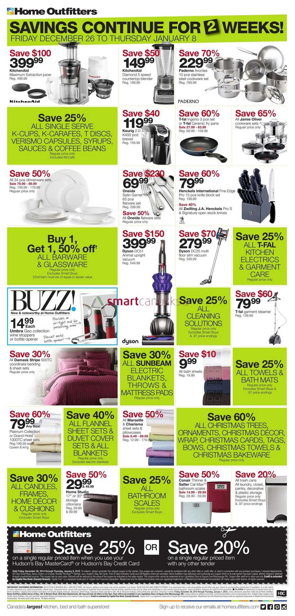 Home Outfitters Flyer Kitchener