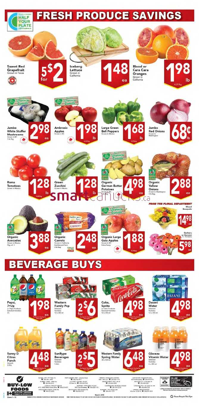 Buy Low Foods Flyer