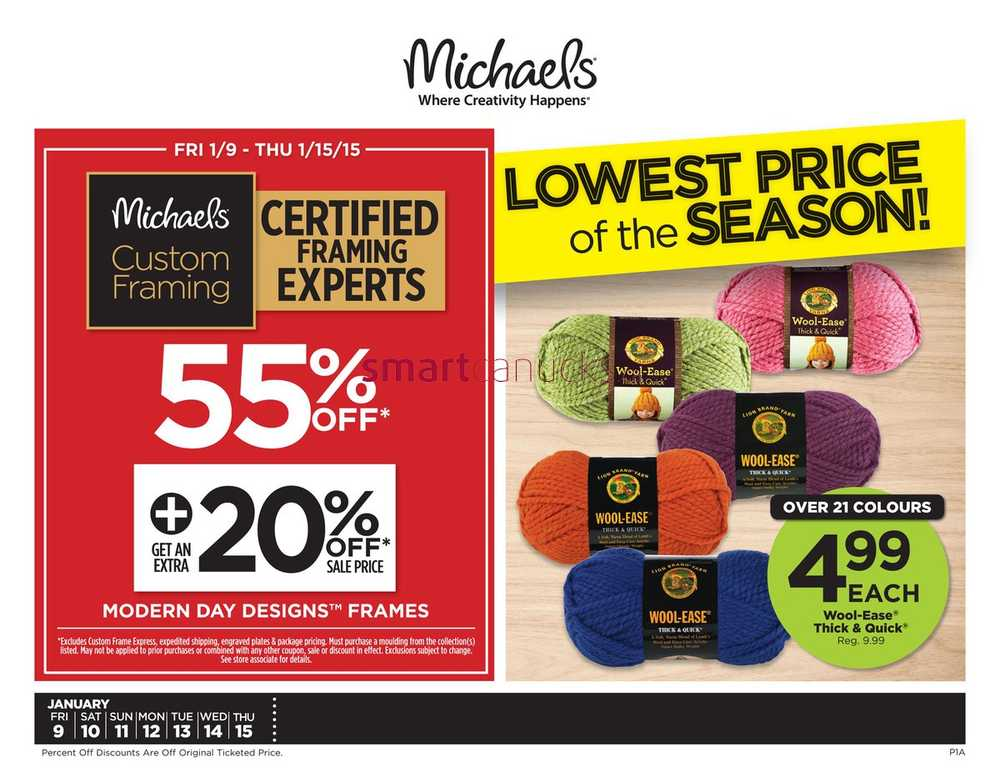 Coupons for michaels crafts canada - Coupon codes for wildwood inn