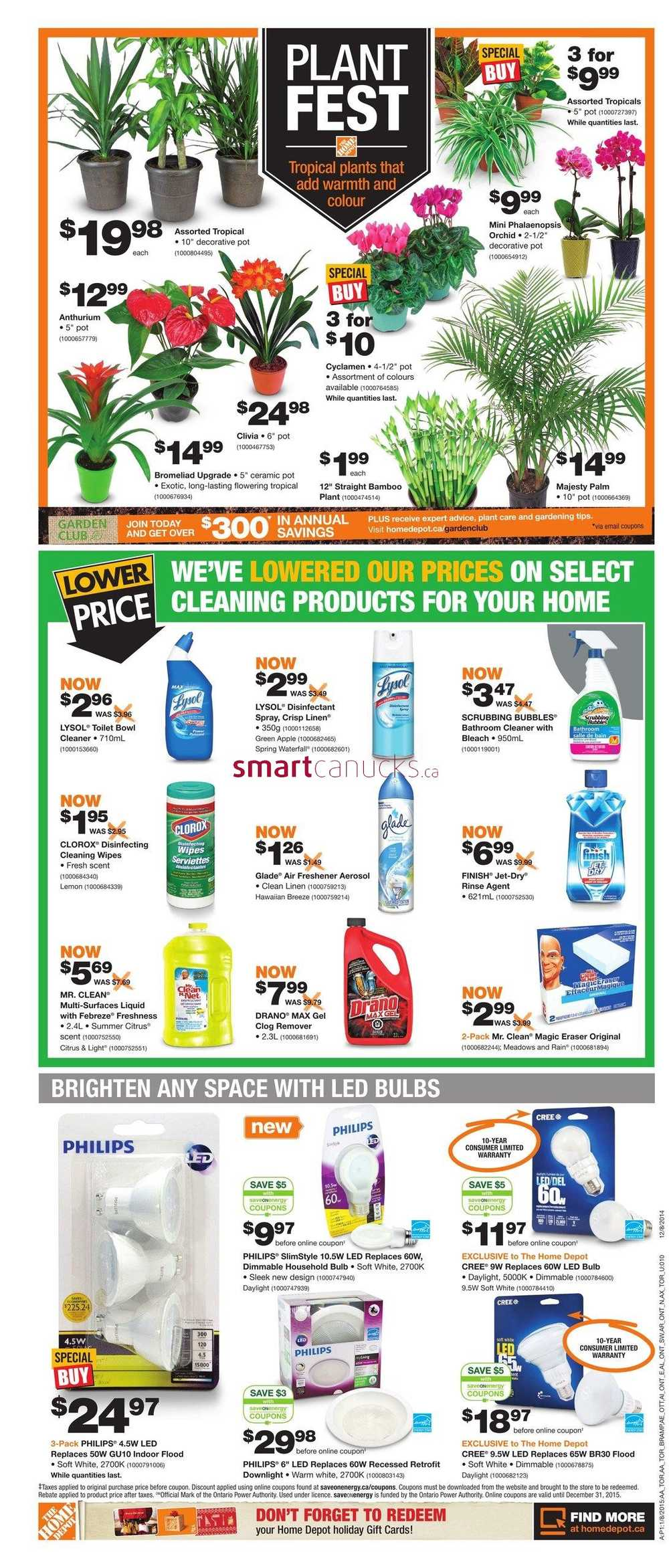 Home Depot On Flyer January 8 To 14