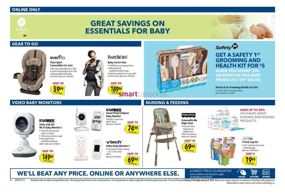best buy flyer january 23 to 29