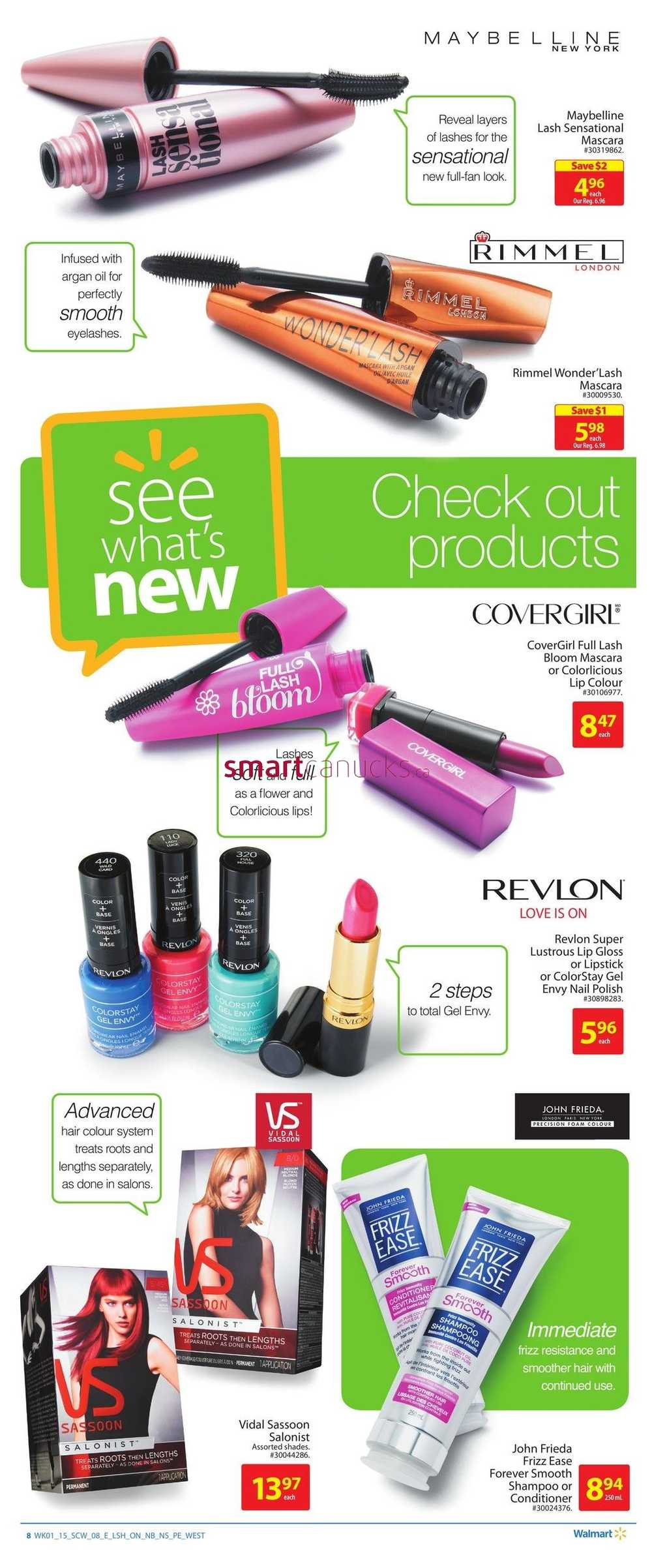 January 2015 Walmart Canada Flyers Coupons Sales