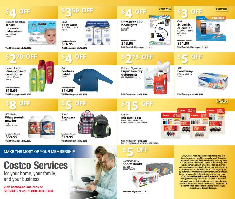 Costco Canada started their Daily Holiday Deals with great online deals every day + FREE Shipping. Today, December 6, , the deals include.