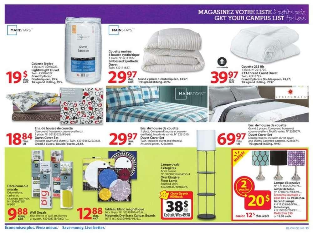 Walmart Qc Flyer Aug 8 To 14
