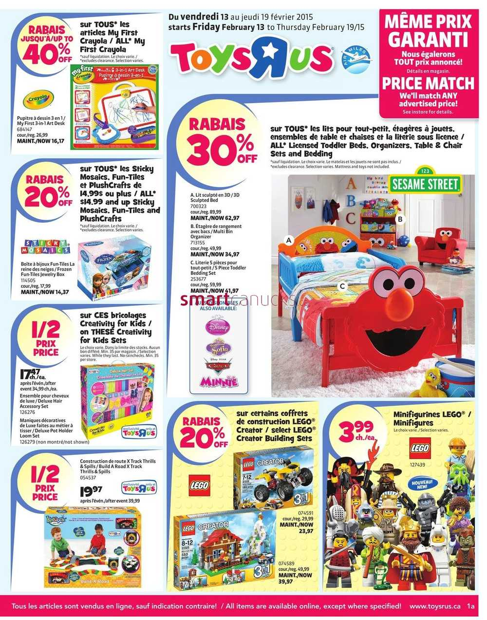 Toys R Us Flyer : Toys r us canada flyers