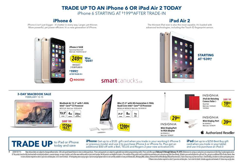 Best Buy Flyer February 13 to 19