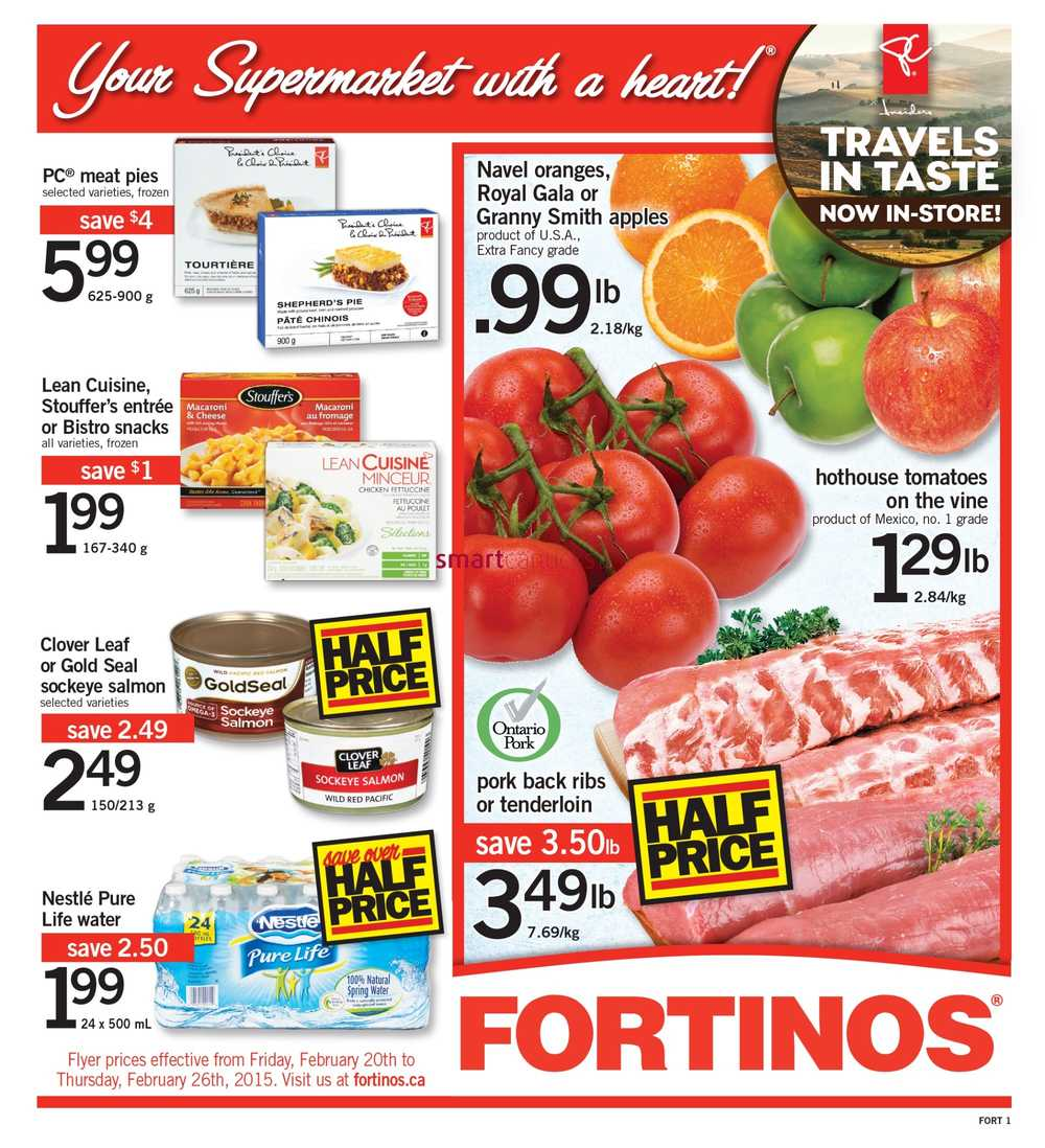 Fortinos Flyer Ontario
