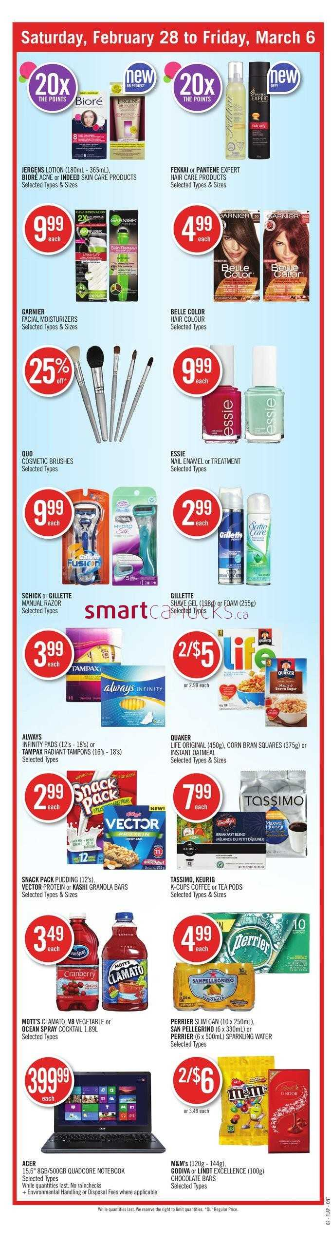Shoppers Drug Mart On Flyer February 28 To March 6