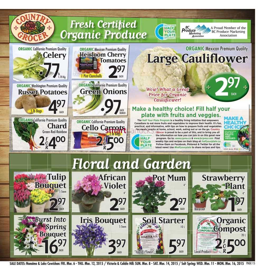 Country Grocer Flyer March 6 To 12