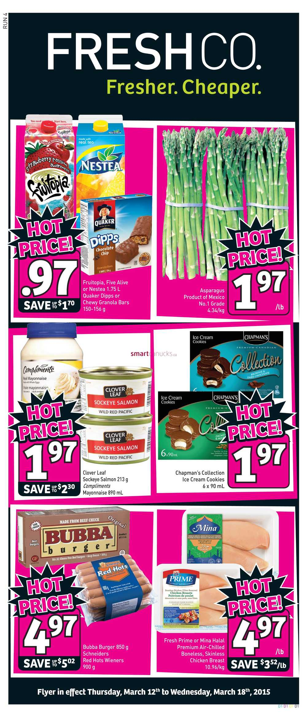freshco canada weekly flyers thursday march 12 to