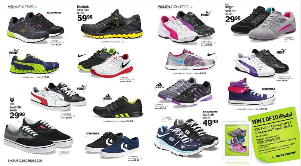 Globo Shoes Flyer Canada