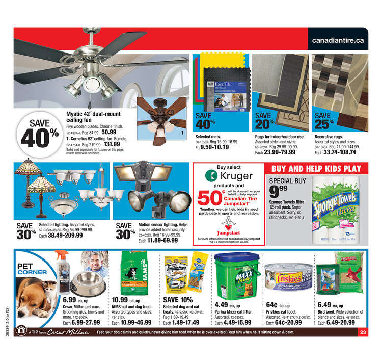 Canadian Tire flyer Aug 17 to 23