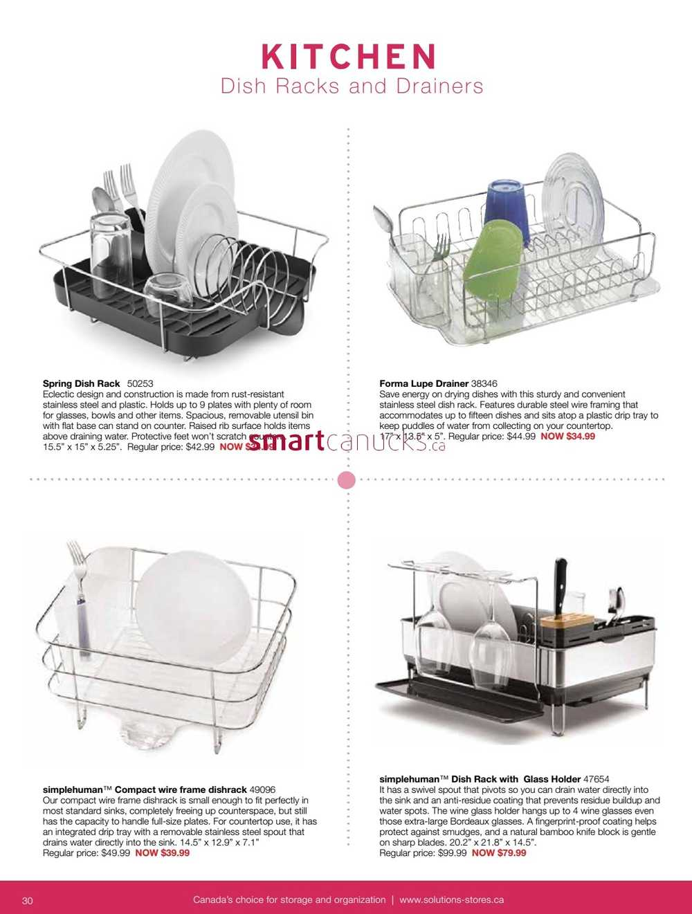 Old Fashioned Simplehuman Compact Wire Frame Dishrack Adornment ...