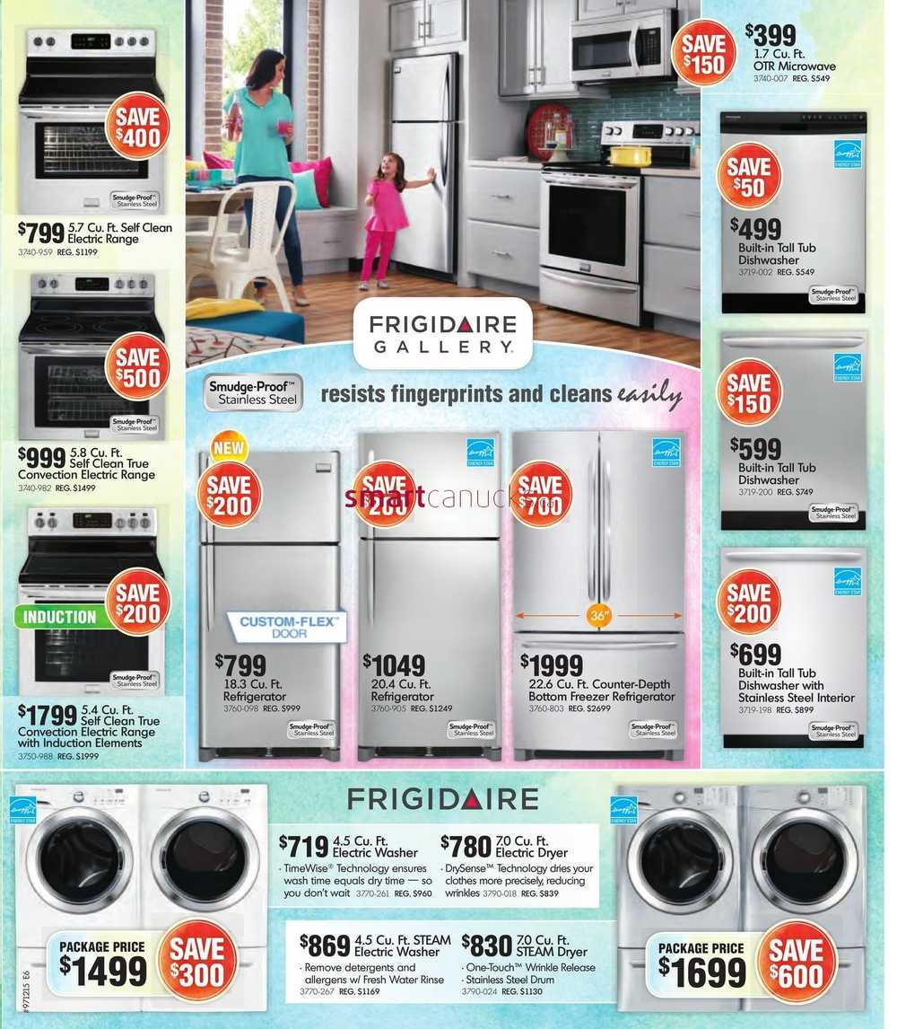 Home Furniture On Flyer April 1 To 19