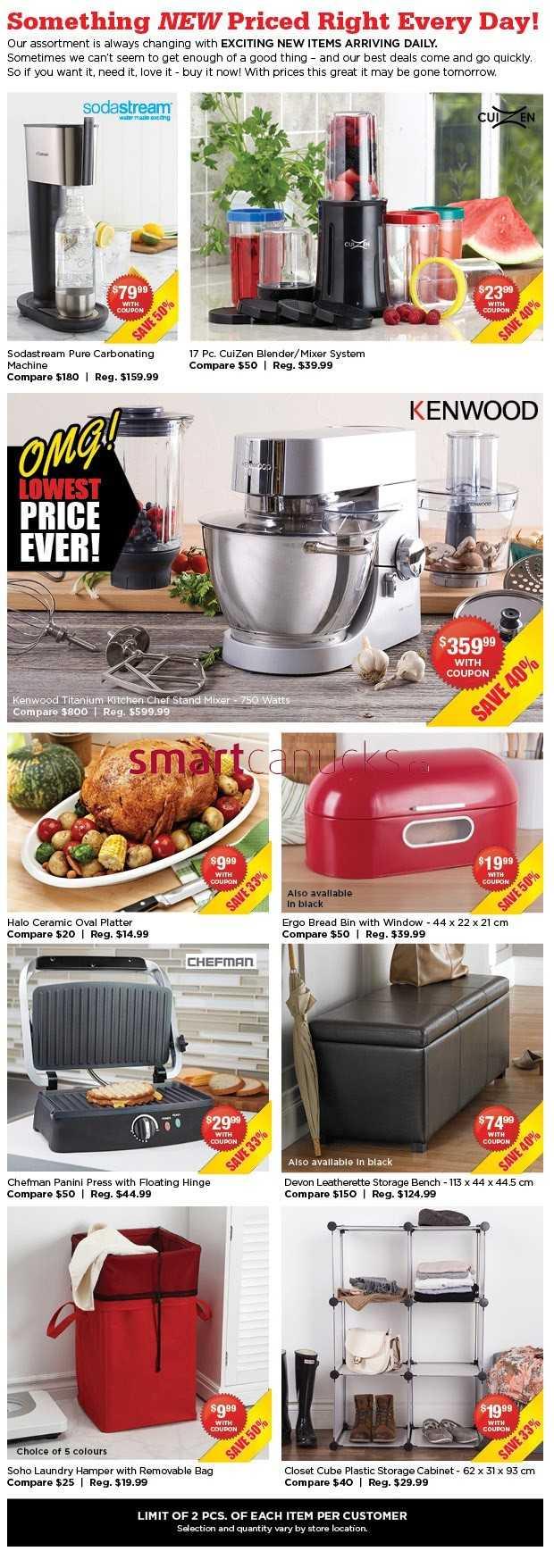 Kitchen stuff plus red hot deals november