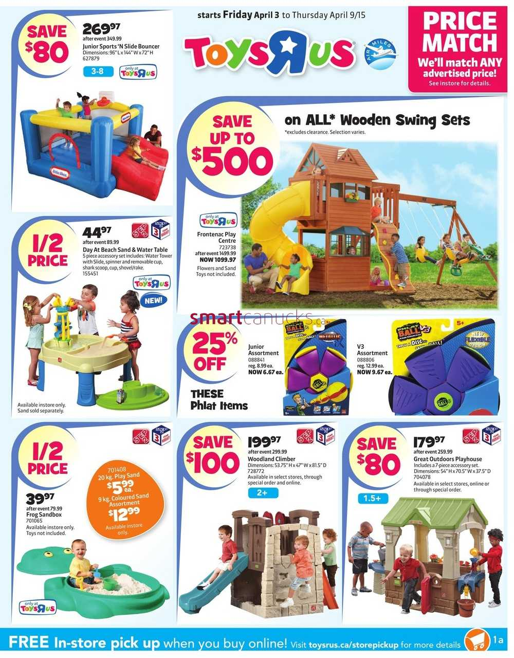 Toys R Us Flyer April 3 To 9