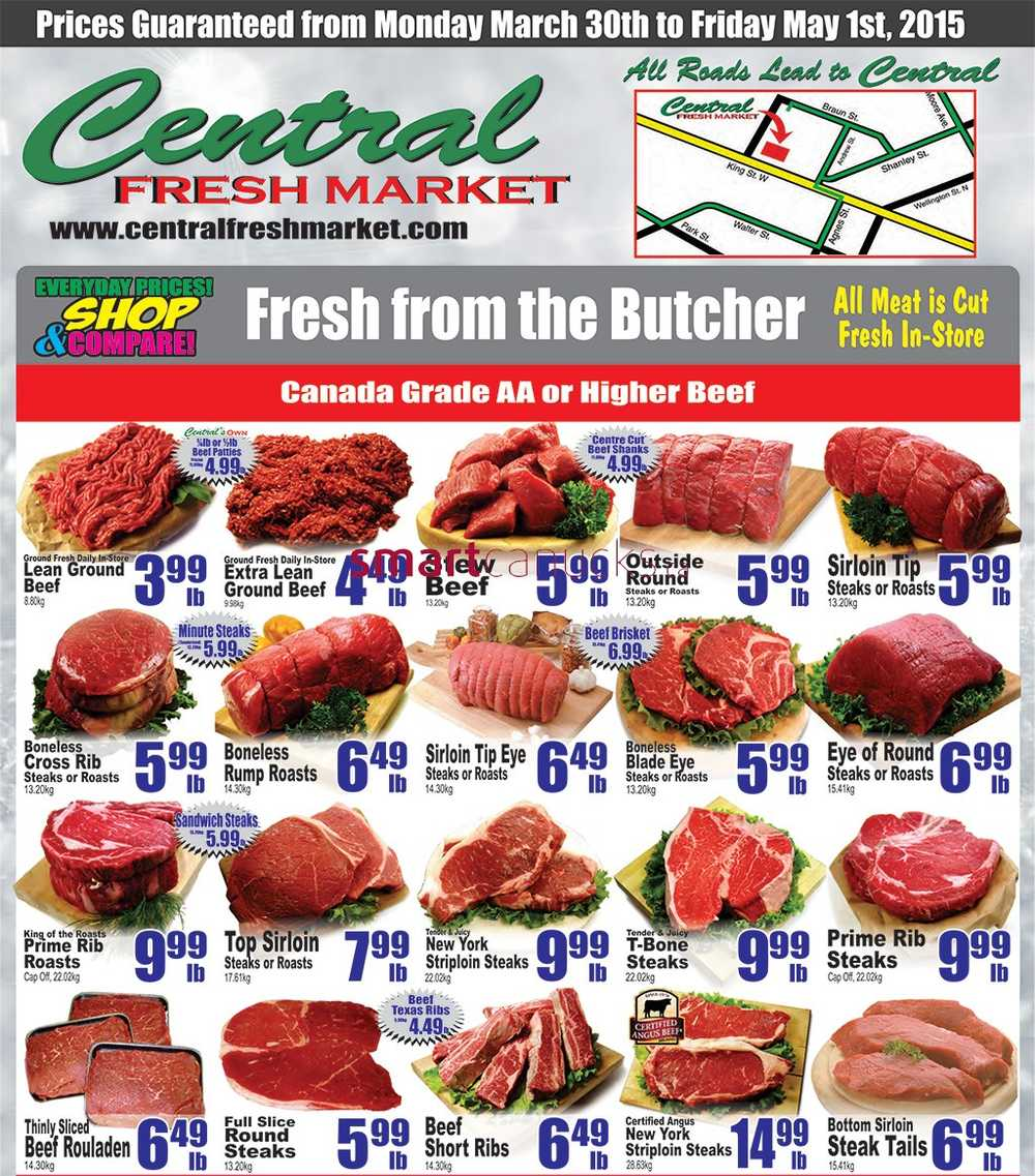 Central market coupons