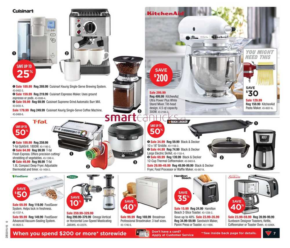 Uncategorized Canadian Tire Kitchen Appliances canadian tire on flyer april 10 to 16 view single