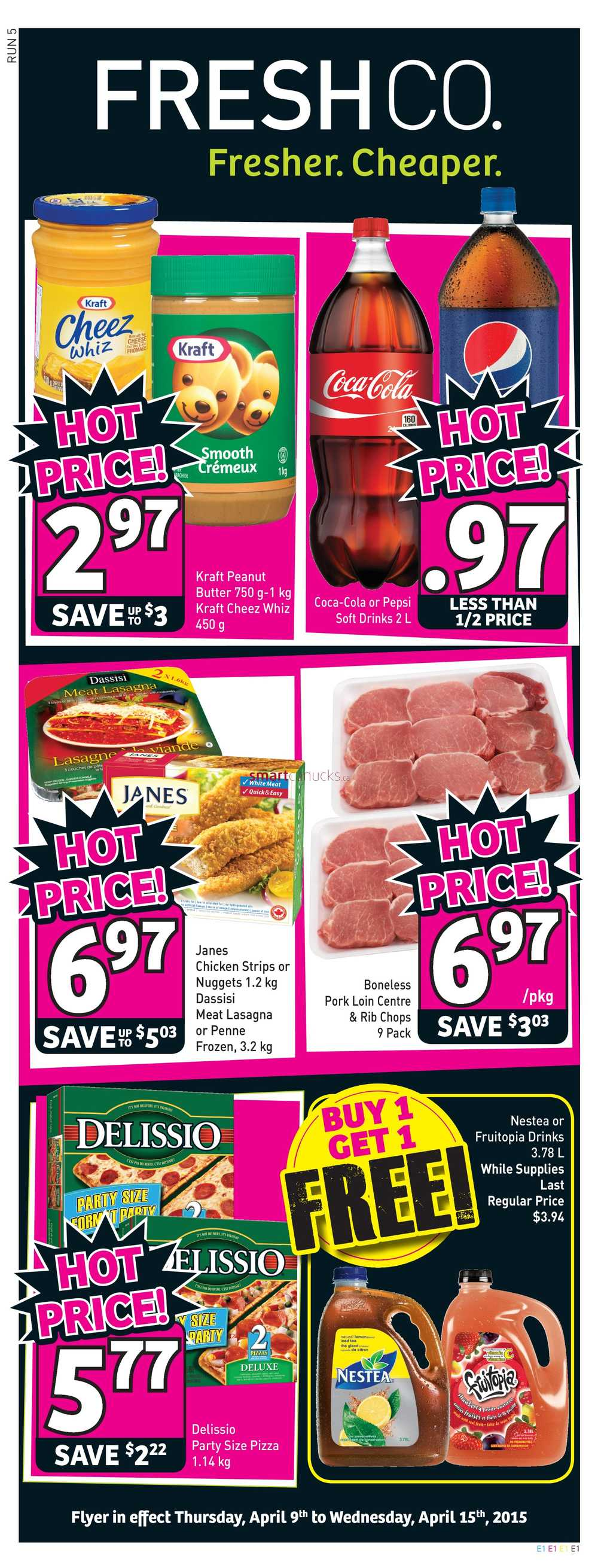 freshco canada weekly flyers thursday april 9 to