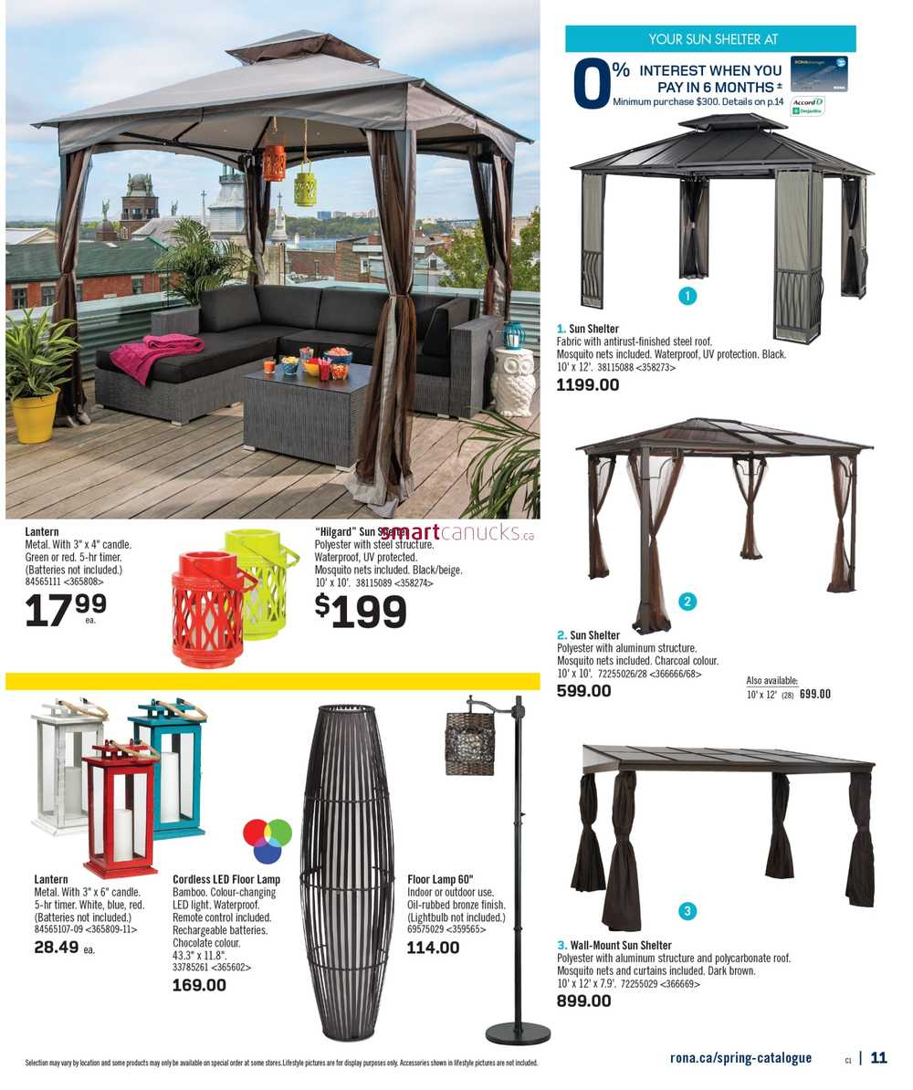 More Rona Flyers  sc 1 st  Smart Canucks & Rona Spring Catalogue April 9 to July 9