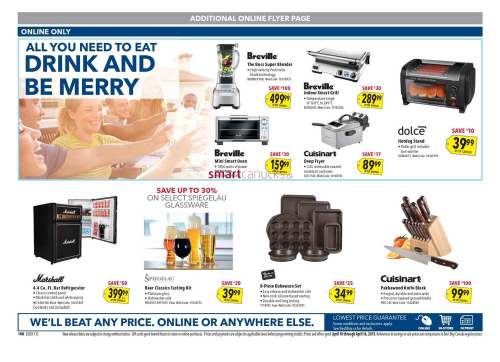 best buy flyer april 10 to 16