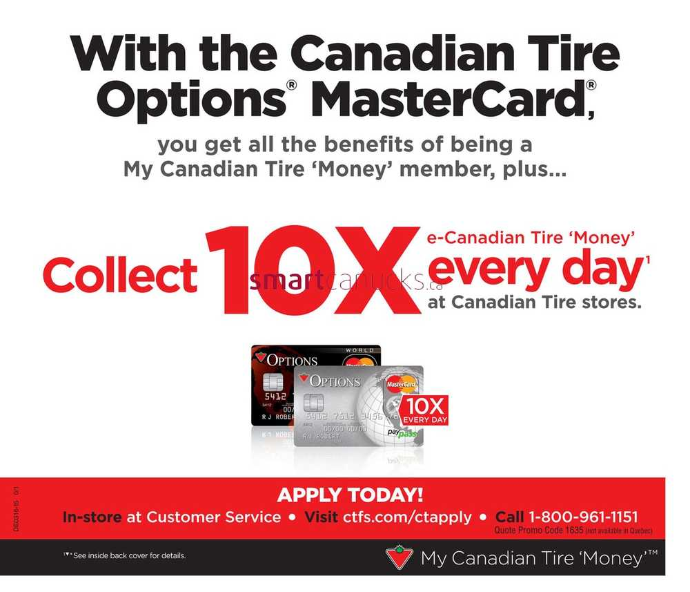 Canadian Tire Mastercard Call