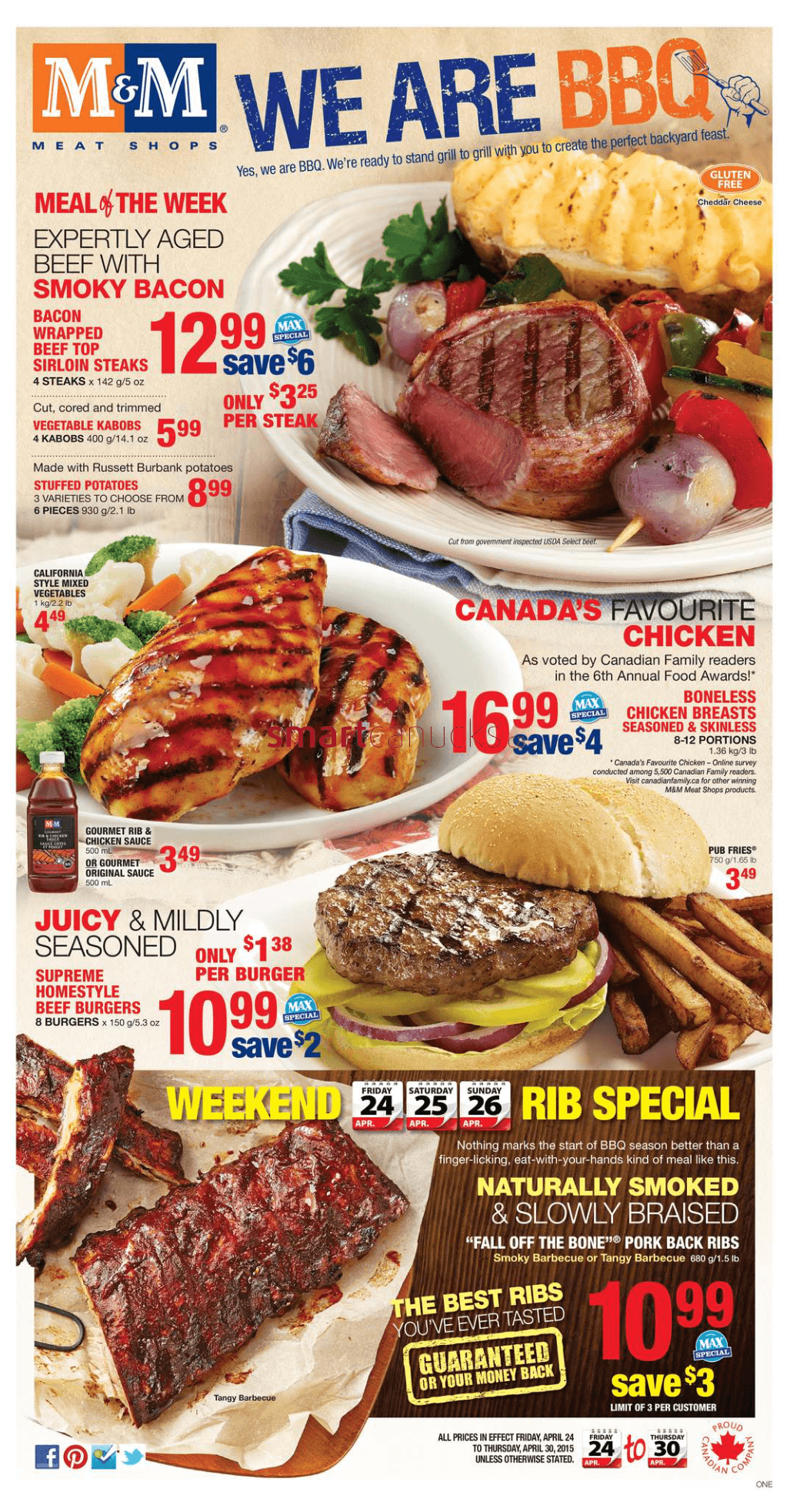 m m meat shops View all the grocery products on sale in the m&m meat shops weekly grocery flyer in your area and save money on your grocery shopping list.