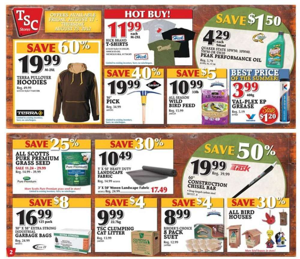 tsc stores flyer aug 17 to 23