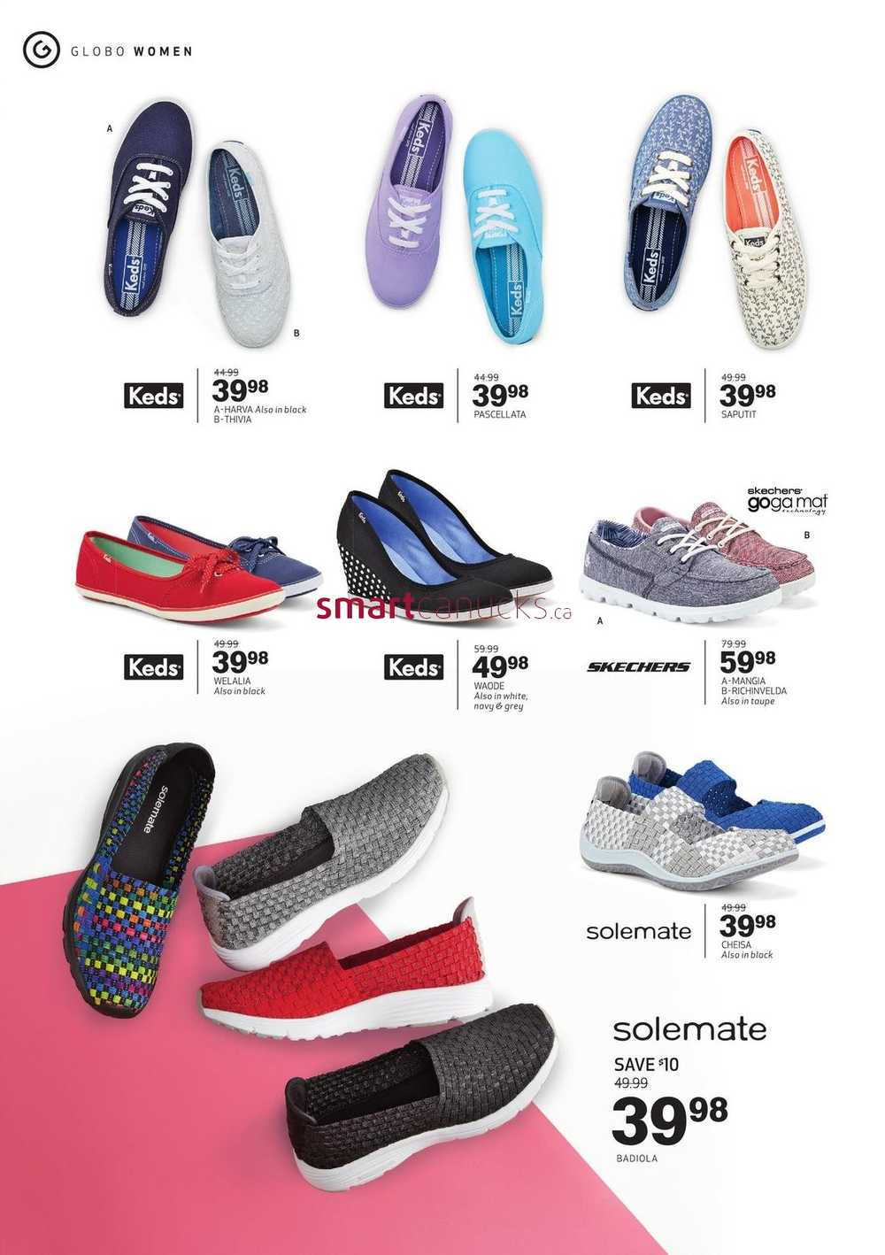 Globo shoes coupons canada