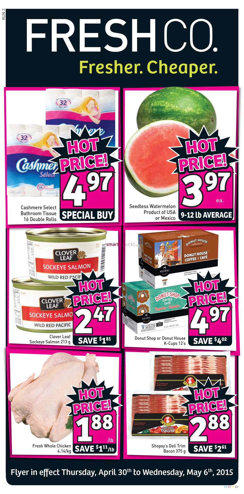 freshco canada weekly flyers thursday april 30 to