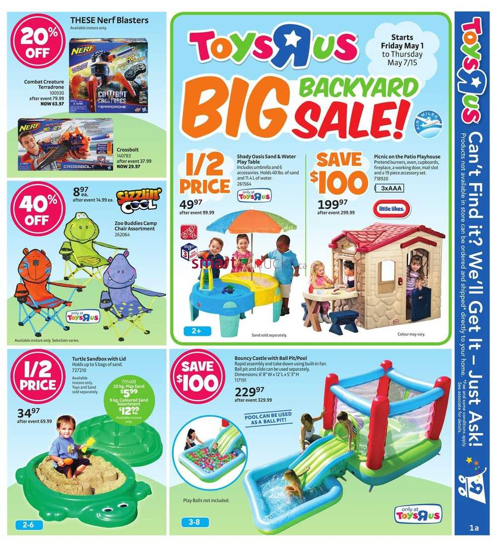 Toys R Us Flyer May 1 To 7