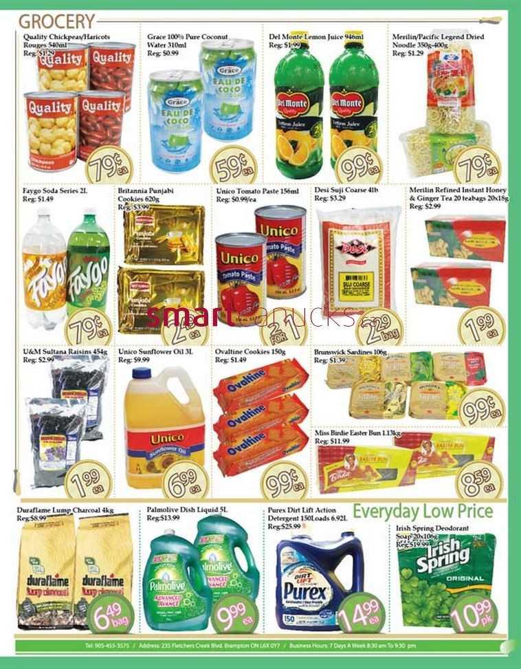 Ample Food Market Flyer