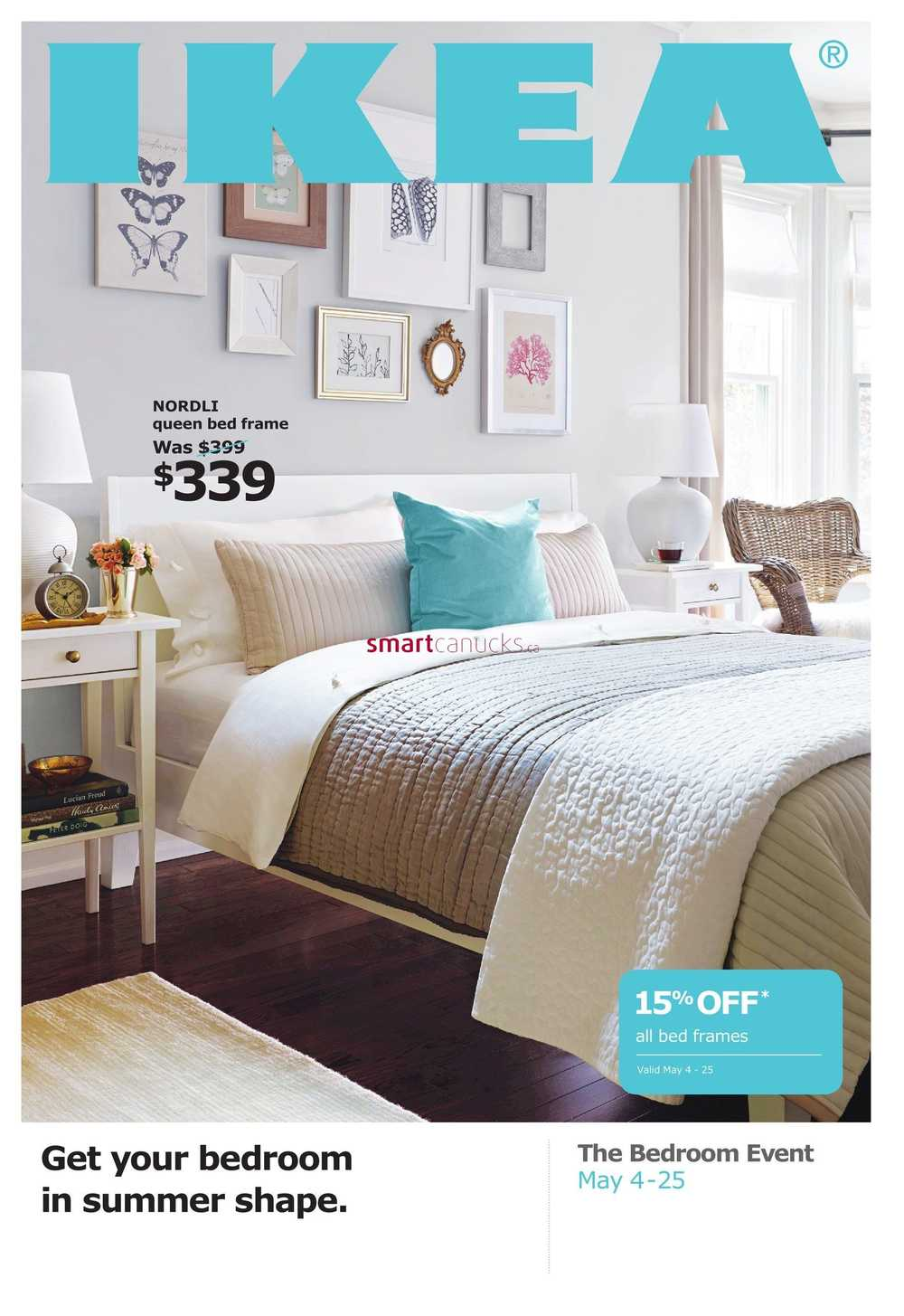 Ikea Bedroom Event Flyer May 10 to 210