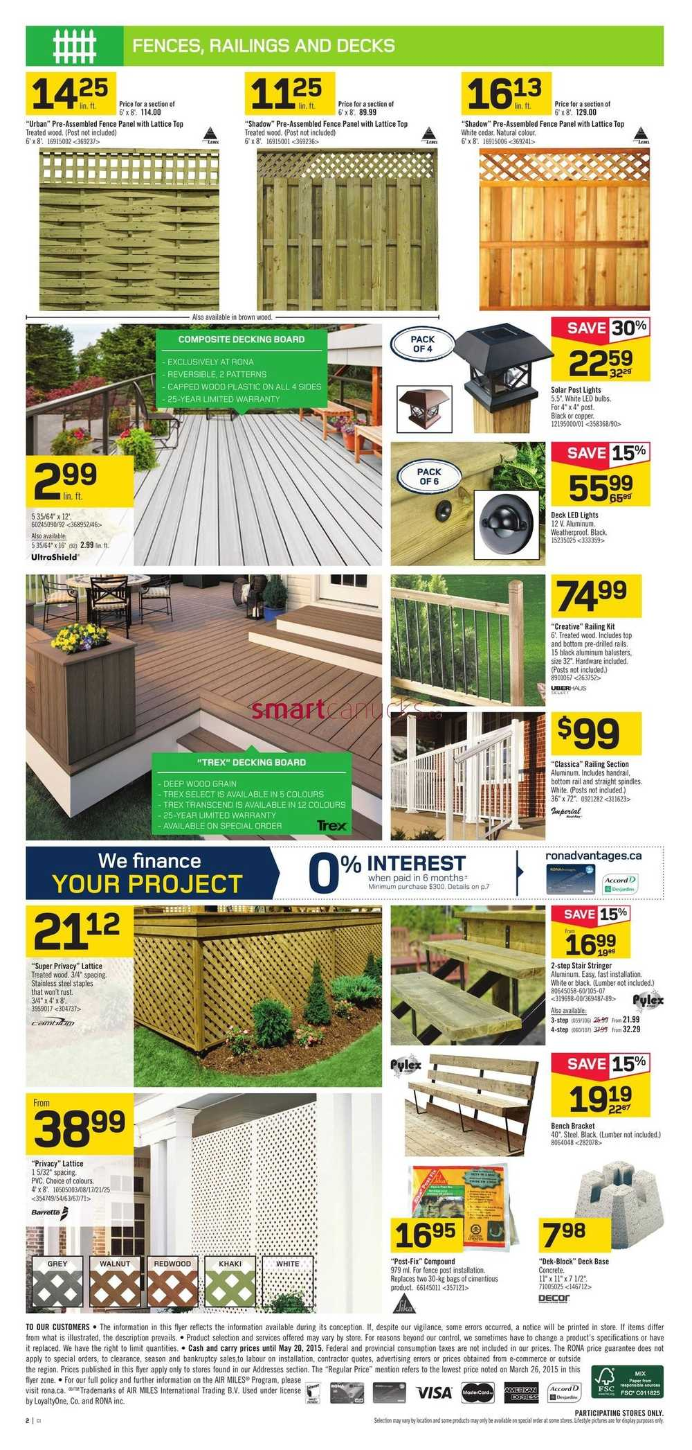 Rona flyer may 14 to 20 view single baanklon Images