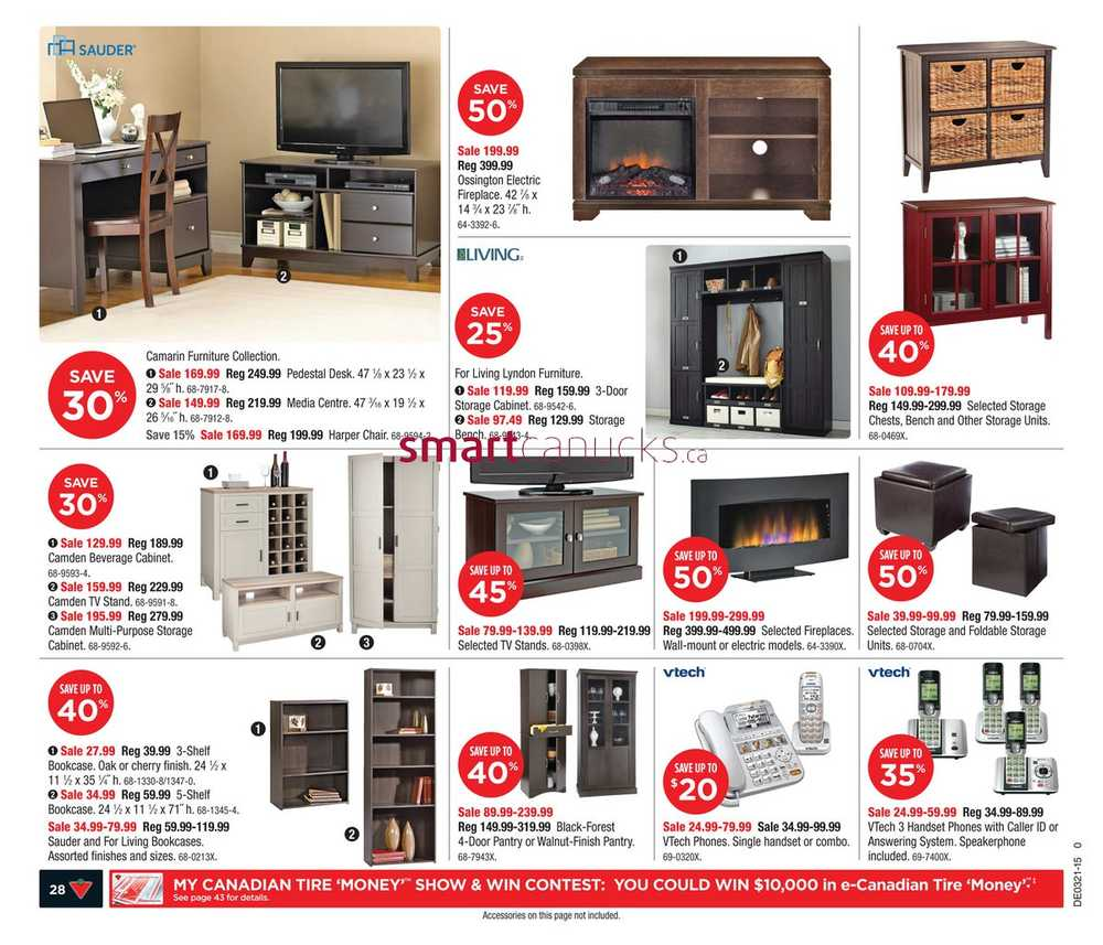 Canadian Tire On Flyer May 22 To 28 # Meuble De Tv Canadian Tire