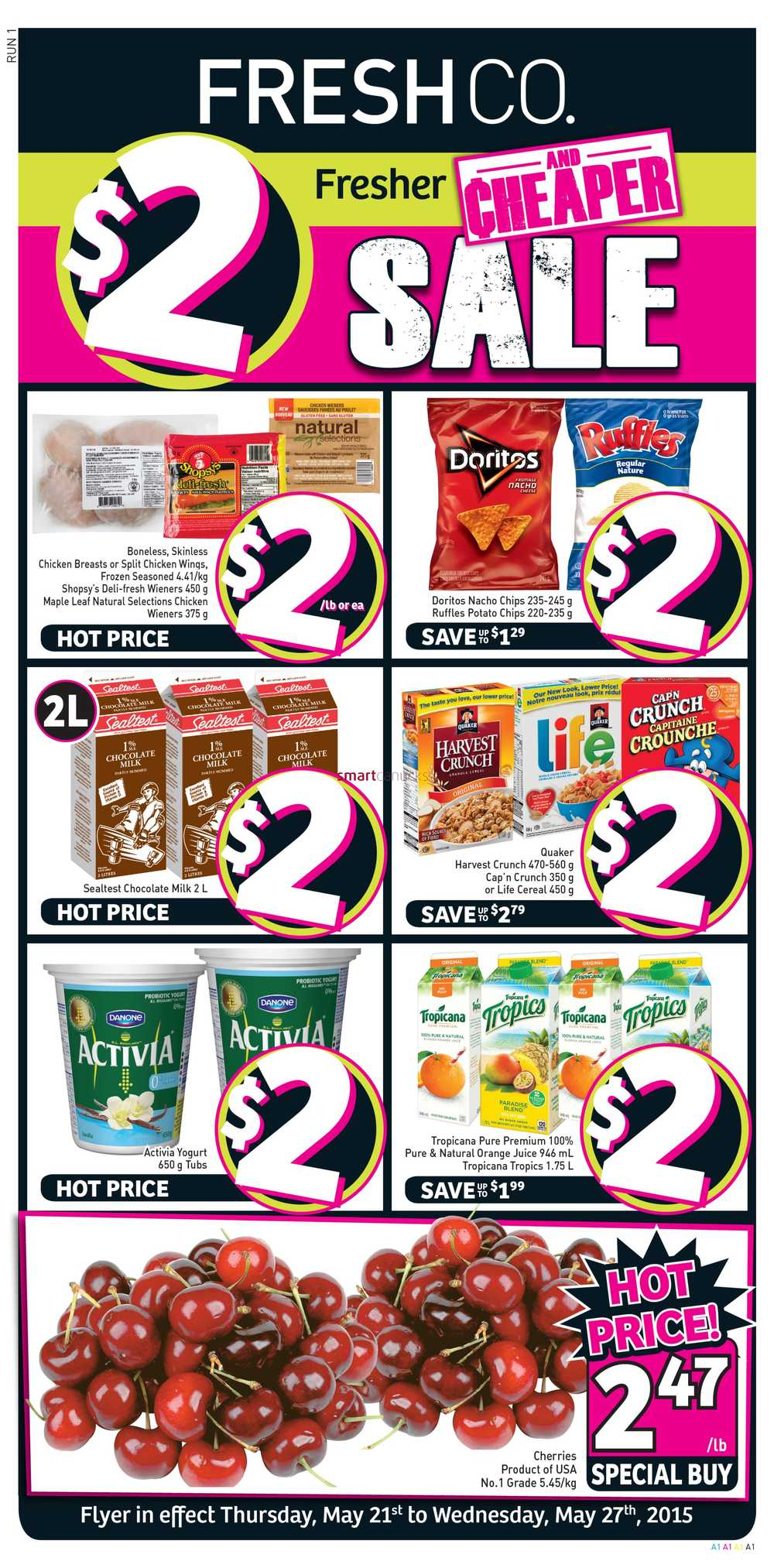 FreshCo Canada Weekly Flyers: Thursday, May 21 To Wednesday
