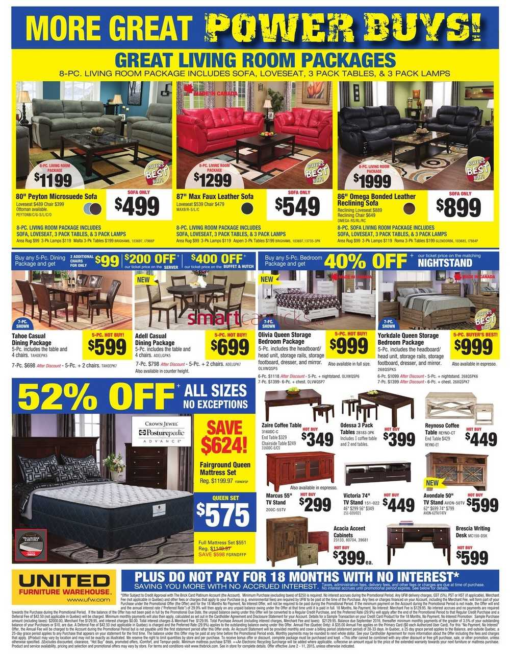 United Furniture Warehouse Flyer June 2 To 11