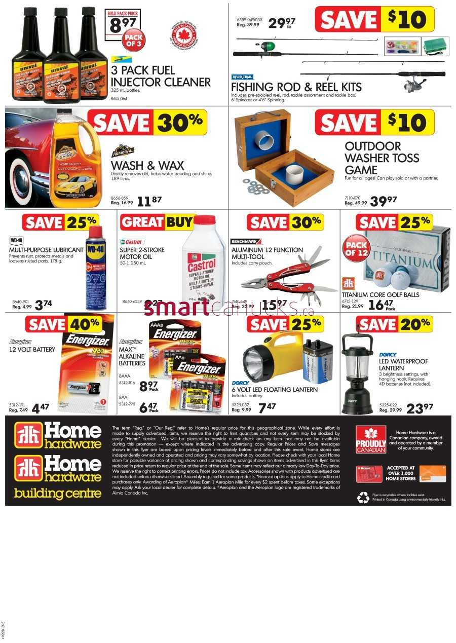 Home Hardware Foyer : Home hardware bc flyer june to