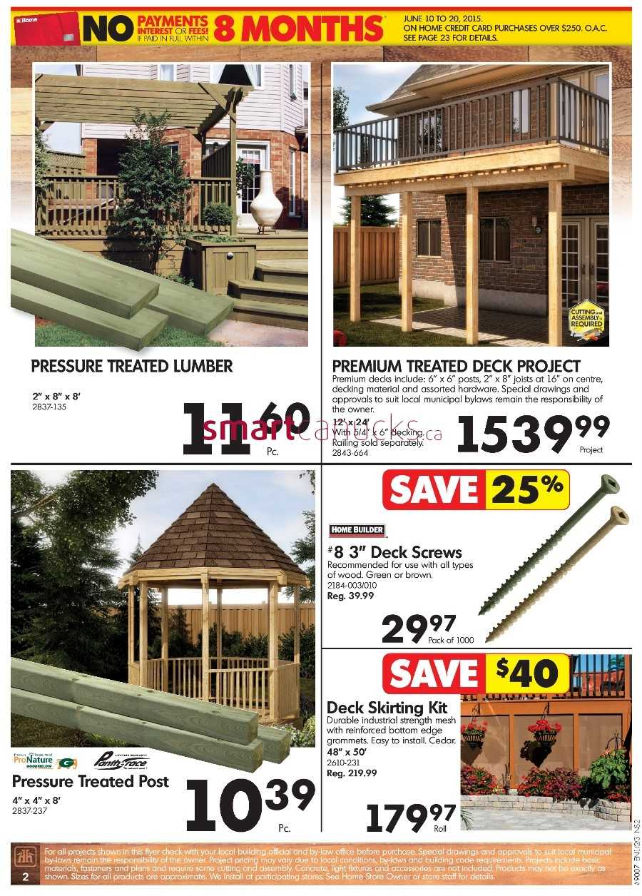 Home Hardware Building Centre Atlantic Flyer June 10 To 20