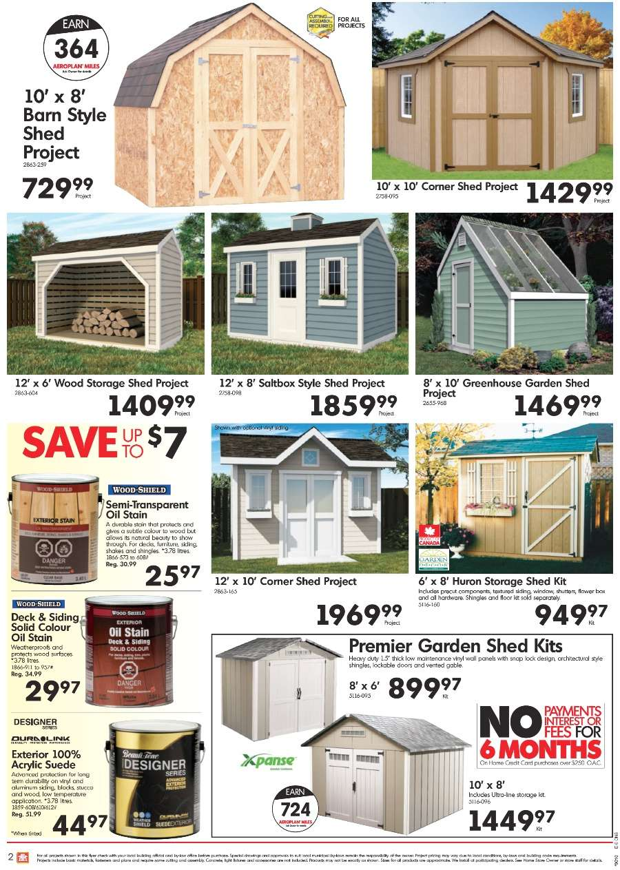View Single  sc 1 st  Smart Canucks & Home Hardware flyer Aug 29 to Sep 8